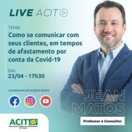 LIVE ACIT: Comunicação com clientes em tempos de crise.
