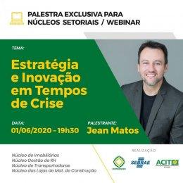 Palestra On-line Programa Empreender - Estratégias em Momentos de Crise