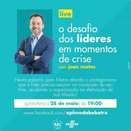Palestra On-line APL Terra Roxa/PR - O papel do líder em momentos de crise!